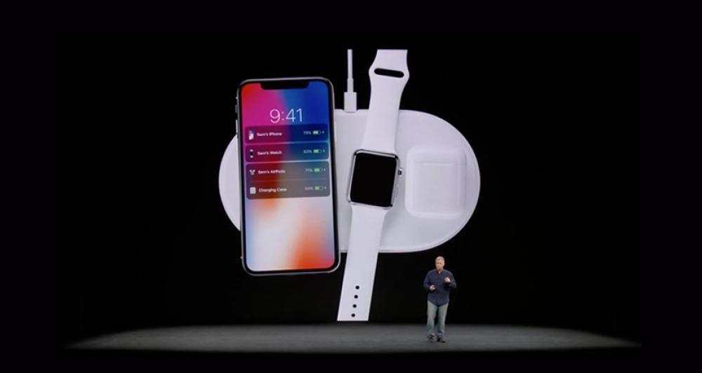 El iPhone X, el iPhone 8 y el iPhone 8 Plus se pueden cargar de manera inalámbrica
