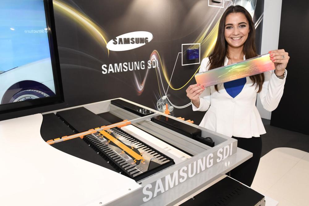Las nuevas baterías modulares de Samsung permitirán ajustar el rango de un vehículo eléctrico