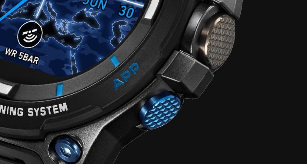 Casio PRO TREK WSD-F20S.