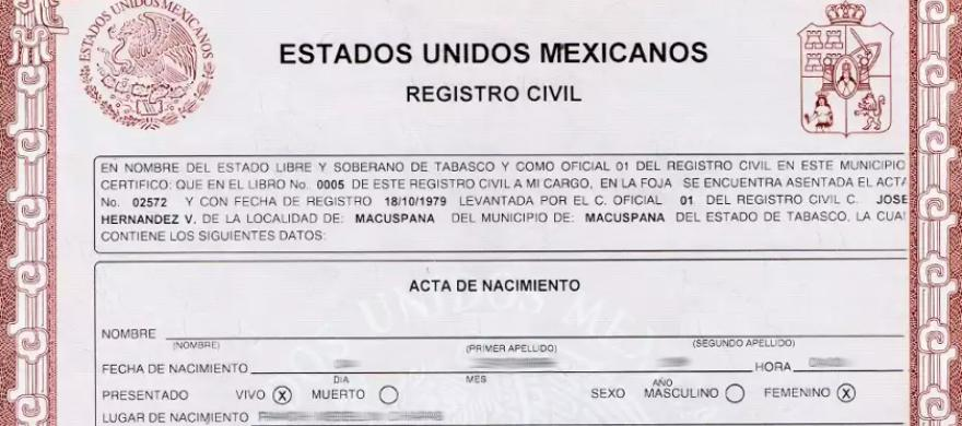 Cómo imprimir una copia certificada de tu acta de nacimiento desde ...