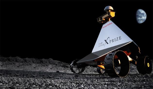 Rover explorer. Image: Astrobotic Technology
