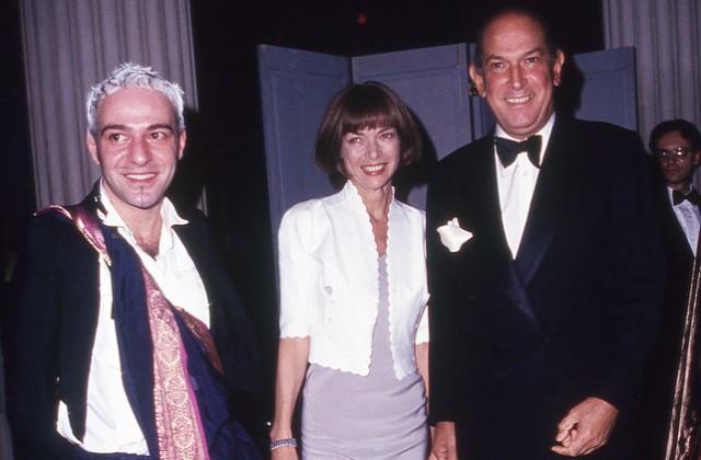 John Galliano, Ana Wintour, Oscar de la Renta