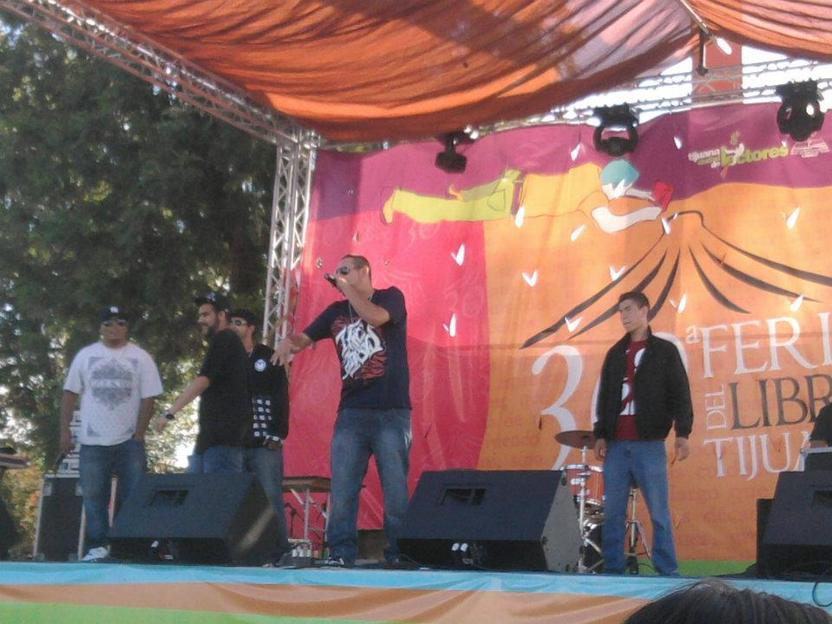 Feria del libro Tijuana 2012