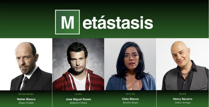 The Cast of Metástasis