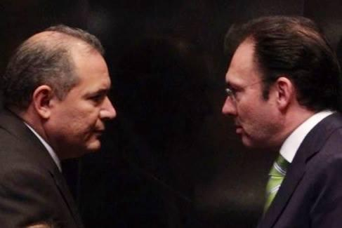 Marco Antonio Blasquez and Luis Videgaray