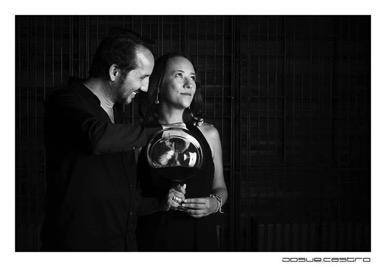 Alvaro Alvarez and Nydia Krauss of Alximia, Valle de Guadalupe. Photo Josue Castro