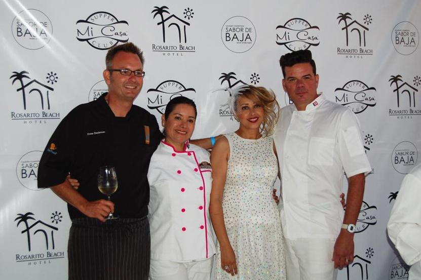 Chefs Drew Deckman, Gabriela Melchum, Bo Bendana and Felipe Raul Lopez-Torres.