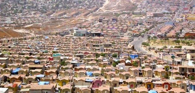 Resultado de imagen para foto de fraccionamientos populares en Tijuana