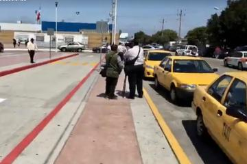 Yellow Taxis are Looking for a New Base Near PedWest Port of Entry