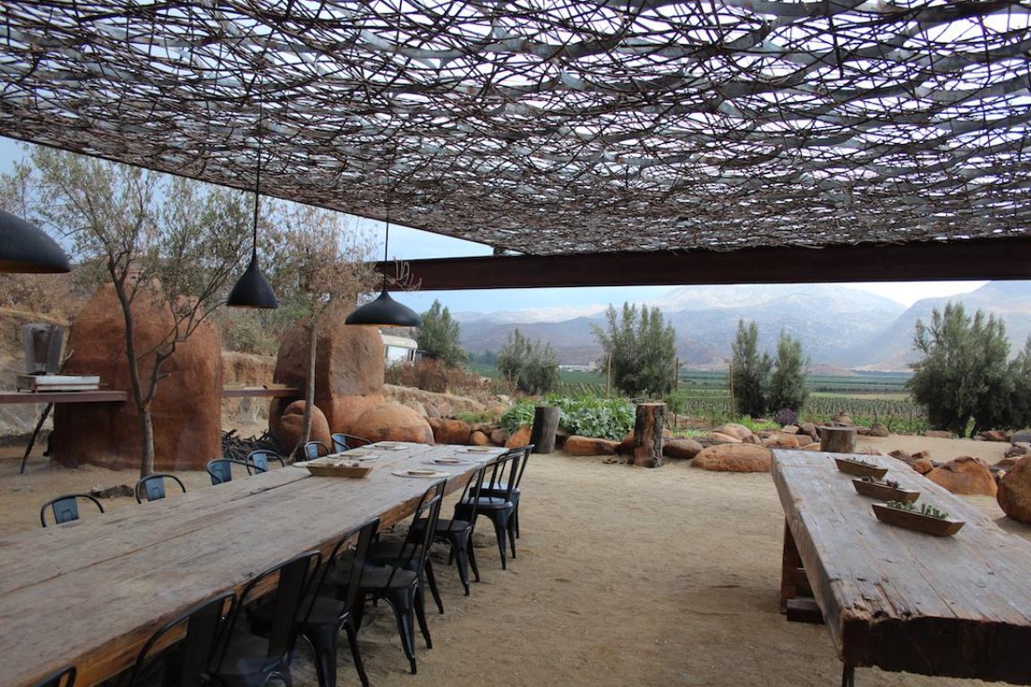 La arquitectura del restaurante es otro gran acierto de Fauna. Foto: Ángel García