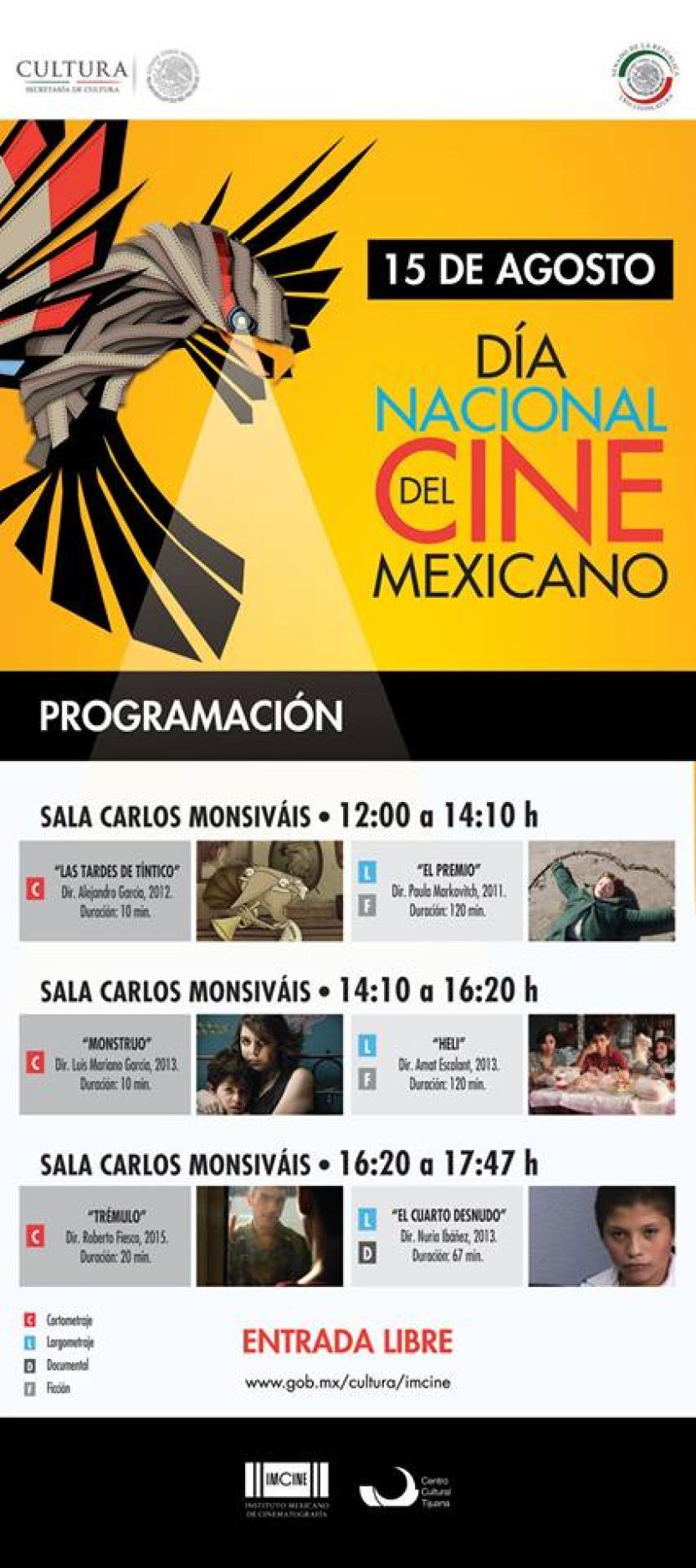 Esta es la programación especial para celebrar el Cine Mexicano