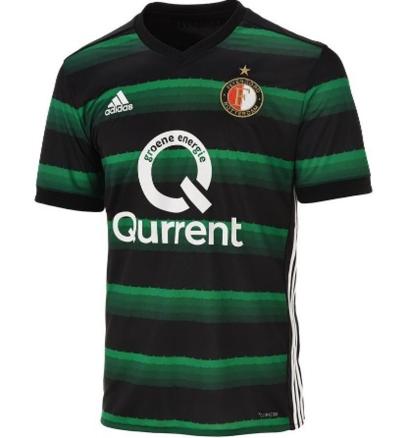 En segundo lugar la que Feyenoord usa de visitante
