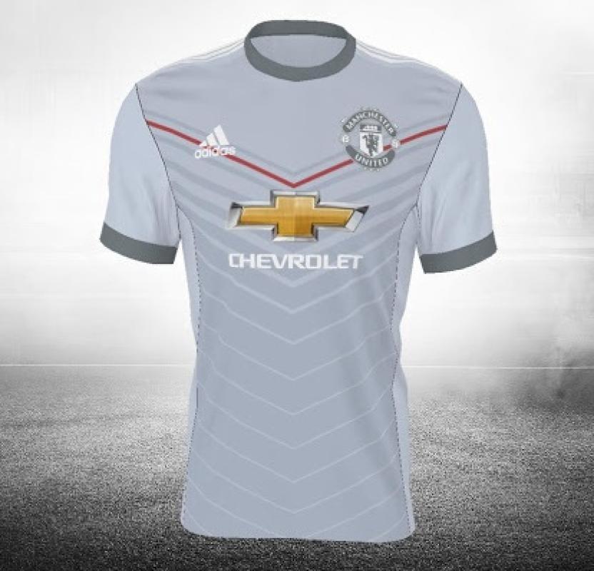 En tercer lugar una de las playeras del Manchester United