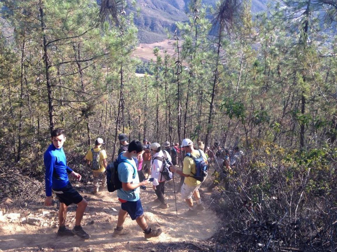 El lugar era frecuentado por senderistas aficionados y profesionales. Foto: Evelin Chavira