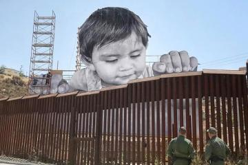 """Kikito:"" The New Art Piece Between the Border of Tecate..."