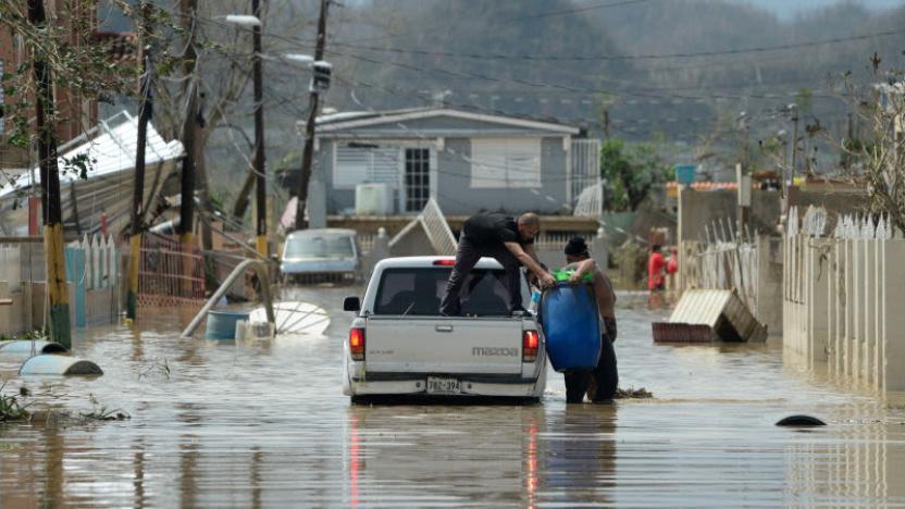 Inundaciones afectan a la poblacion. Fotografía por AP