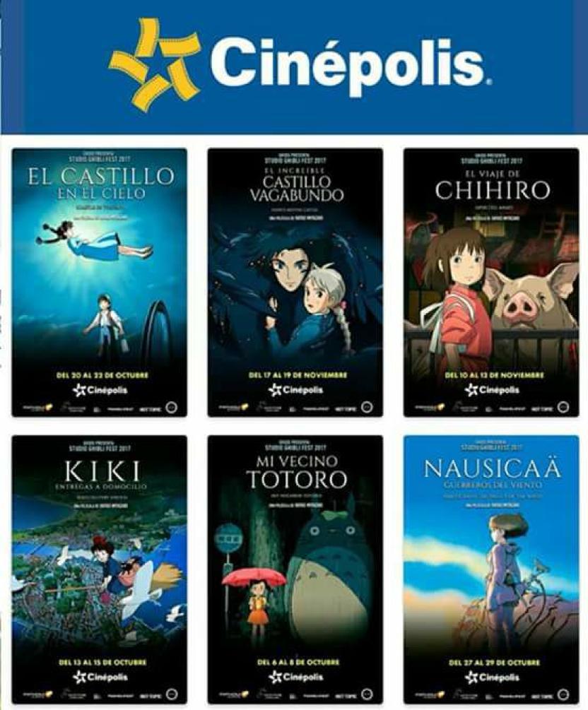 Cinépolis trae su ciclo Ghibli a Tijuana en octubre y ...