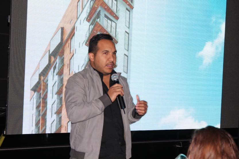 El arquitecto de este y otros proyectos de Cosmopolitan Group, Gustavo Gualajara. Foto: José Sánchez/SanDiegoRed