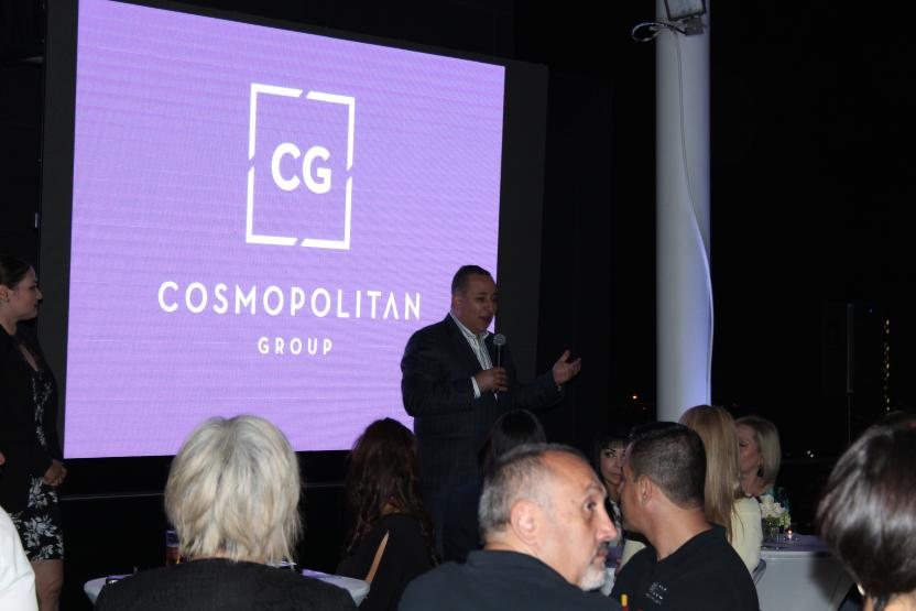 David Saúl Guakil, presidente de Cosmopolitan Group. Foto: SanDiegoRed