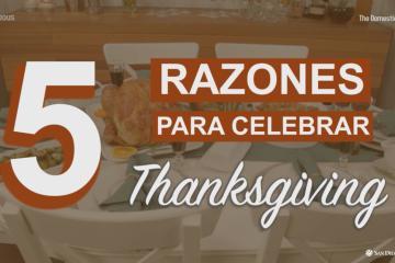 """5 buenas razones para celebrar """"Thanksgiving"""" sin..."""