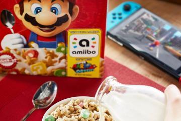 Kelloggs lanzará cereal de Super Mario con Amiibo incluído