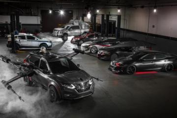 Nissan presenta línea de vehículos inspirada en Star Wars