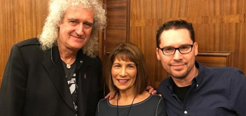 El director Bryan Singer (derecha). Foto: Instagram de Bryan Singer