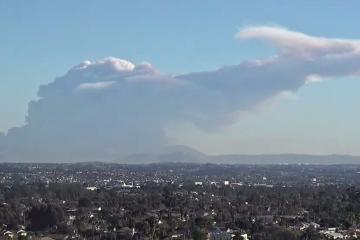 """Nace """"dragón"""" en Tijuana tras incendio en Valle de las..."""