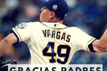 César Vargas sale de los Padres
