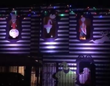 Take a Picture in This Jack Skellington Inspired Facade in Tijuana