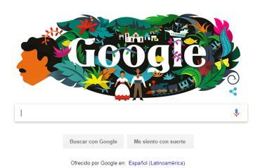 Google celebra a Gabriel García Márquez