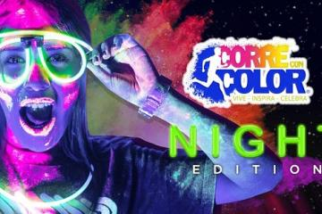 Run with Colors at the Night Edition Race to Be Held at Estadio...