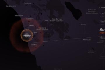 ¿Qué pasaría si cae una bomba nuclear en Tijuana o San Diego?