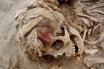 Descubren en Perú 140 cadáveres de niños sepultados por un...