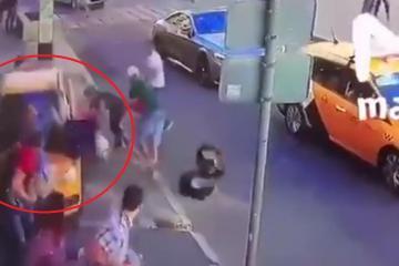 Rusia 2018: Taxista ruso atropella a multitud en Moscú, incluyendo...