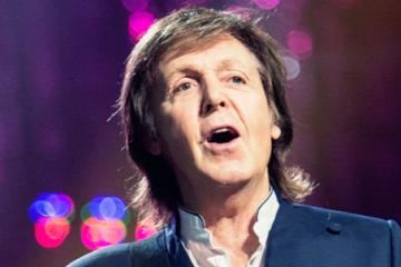 ¡Paul McCartney esta de fiesta!