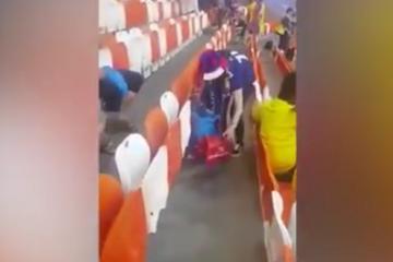 Afición de Japón dan un gran ejemplo tras finalizar partido en el...