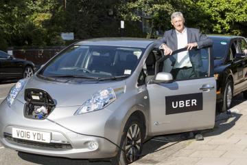 Uber pagará más a conductores de vehículos híbridos o eléctricos