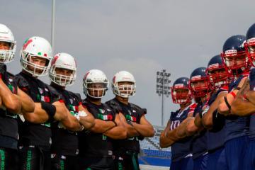 México vence a EEUU en el Mundial de Futbol Americano