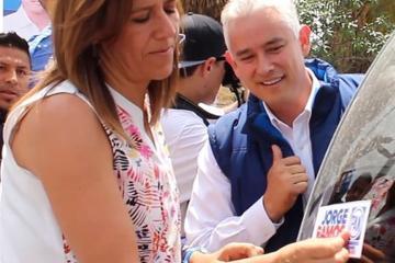 Jorge Ramos, único candidato con apoyo de Margarita en BC