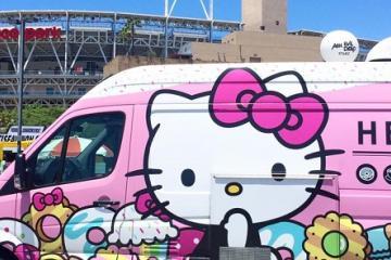 Hello Kitty Cafe Truck presente en San Diego Comic-Con