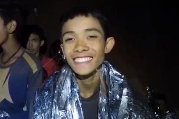 Ya son ocho los niños rescatados de cueva en Tailandia