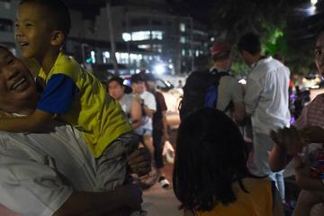 Todos los niños atrapados en cueva ya fueron rescatados