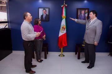 Rinde protesta nuevo Coordinador de Gabinete de la Alcaldía de...