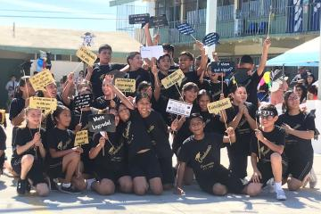 Se gradúan 478 alumnos de secundarias municipales