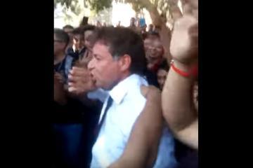 Le da la pálida a reportero que cubría manifestación pro...