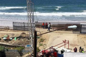 Nuevo parque público en Playas de Tijuana ya va avanzando