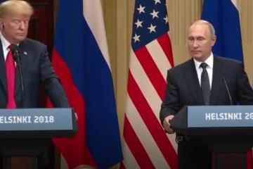 Trump defiende a Putin enfrente del mundo entero