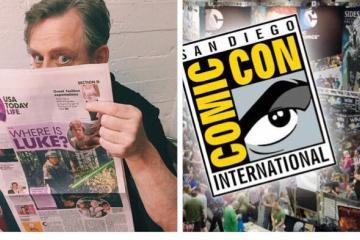 ¡Mark Hamill revela que está en San Diego Comic-Con! ¿O no?