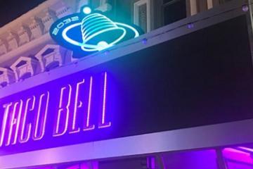 Taco Bell futurista presente en Comic-Con con comida gratis